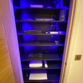 Domestic-Media-cupboard